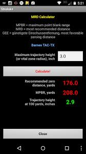 Texas travel distance calculator images Understanding zeroing ballistics sheepdogsurvival png