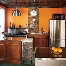 orange kitchen ideas kitchens painted orange free home decor oklahomavstcu us