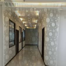 39 u2033 x 78 u2033 circle pattern door window room divider home decor