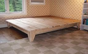 How To Make Bed Frame Build A Platform Bed Frame Bed Frame Katalog 8a1e11951cfc