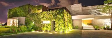 living walls inhabitat green design innovation architecture insulating veil plants envelops stunning seaside home mexico