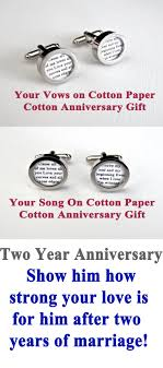 two year wedding anniversary gift two year cotton anniversary gift give him a gift that will last