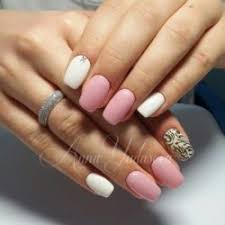 White Pink Nail White And Pink Nails The Best Images Bestartnails Com