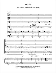 sheet by robbie williams ttbb 108723