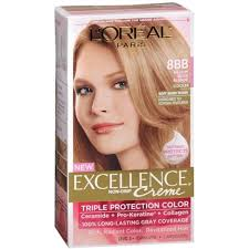 how to get medium beige blonde hair l oreal excellence creme 8bb medium beige blonde cooler 1 each
