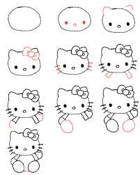 peace love crafts draw kitty