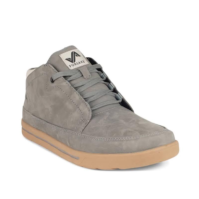 Forsake Phil Chukka Casual Shoe Grey Medium 14 MFW17PC2140