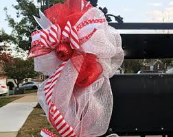 Mailbox Decor For Christmas by Mailbox Decor Etsy