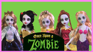 once upon a child halloween costumes once upon a zombie princess review all 6 zombie dolls youtube