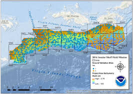 map usvi data collected for map of coral reefs st usvi