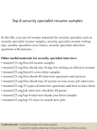 Physical Security Specialist Resume Essays On Disclosure Journal Of Accounting And Economics Write A