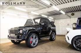 hollmann internationally mercedes benz g 500 brabus 16g0248