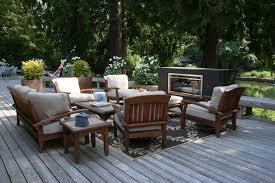 trex furniture deck modern with bench chair deck fireplace garden