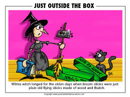witch u2013 just outside the box cartoon