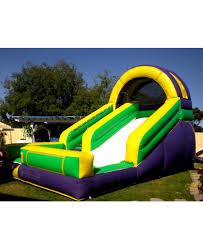 back yard water slide jumper rental for 250 00 jump 4 adan