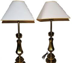 Vintage Brass Table Lamps Table Lamps Vintage Brass Stiffel Candlestick Table Lamps
