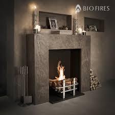 cotswold real log bio fire grate bio fires gel fireplaces ltd