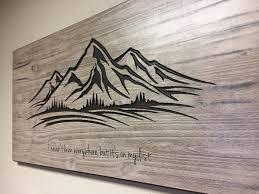 mountain wall wood mountain wall wood carved wall mountain decor