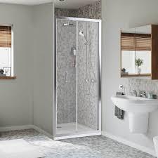 Bifold Shower Door Mira Leap 800mm Bifold Shower Door