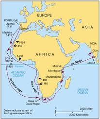 Moving From Coast To Interior Regions Of Sub Saharan Africa Africa Before Columbus