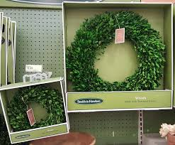 awesome deal for preserved boxwood wreaths