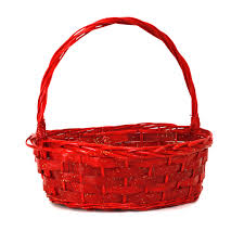 buy oval red baskets with handle ck110 series online almacltd com