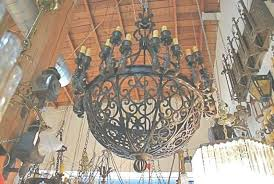 mexican wrought iron lighting 45 best ideas of wrought iron chandeliers