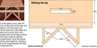 How To Build A Hexagon Picnic Table With Pictures Wikihow by How To Make Spline Dovetail Joints With Pictures Wikihow
