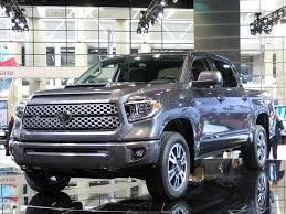 toyota mobile home 2018 toyota tundra trd sport debuts kelley blue book