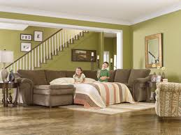 La Z Boy Bedroom Furniture by La Z Boy Devon 5 Piece Sectional With Ras Chaise And 2 Recliners