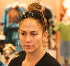jlo earrings beauty lópez sans makeup oh no they didn t