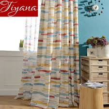 Sheer Gray Curtains Aliexpress Buy Colorful Curtains Room Prints Sheer
