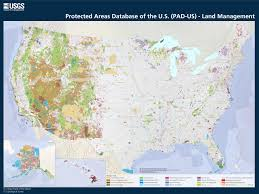 map pad pad us land management map