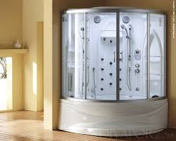 Bath And Shower Unit 2 Person Steam Shower Tub Showers Decoration