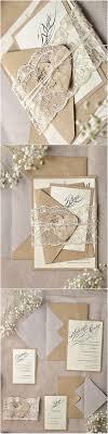 rustic wedding invitation kits rustic calligraphy recycled lace wedding invitation kits deer