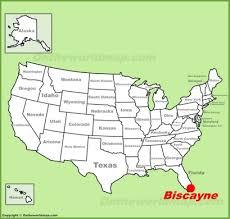 map us national parks biscayne national park maps usa maps of biscayne national park