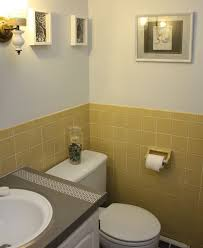 yellow tile bathroom ideas yellow tile bathroom home design inspiration ideas and pictures