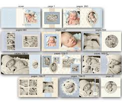 baby album baby album template for photographers timothy 0352 fa
