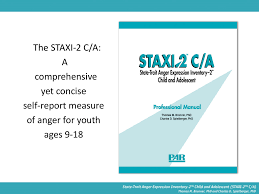 staxi 2 c a psychological assessment resources inc