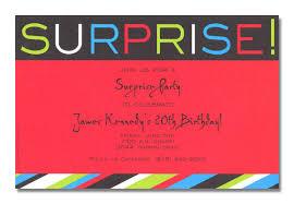 surprise birthday invitation wording themesflip com