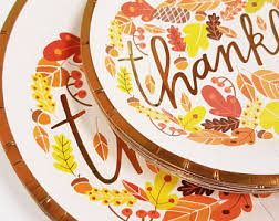 thanksgiving plate etsy