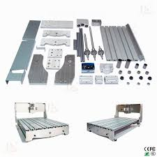 Aluminum Bed Frame Cnc 6040 Z Engraving Machine Frame With Cnc Frame