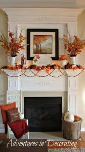 Thanksgiving Home Decor by Thanksgiving Mantel Decorating Ideas Unac Co