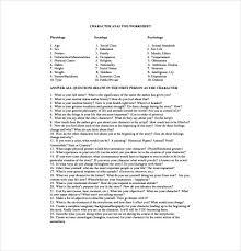 sample character analysis 21 inspiring examples of character