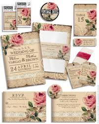 rose wedding invitations plumegiant com