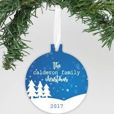 personalized aluminum ornament