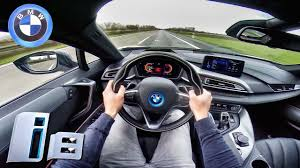 bmw i8 bmw i8 top speed u0026 acceleration pov sound on autobahn by autotopnl