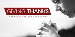 message the sacrifice of thanksgiving from dr ricky gravley