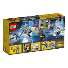 amazon com lego batman movie mr freeze ice attack 70901 building