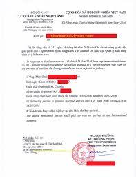 vietnam visa approval letter for wales visa on arrival vietnam
